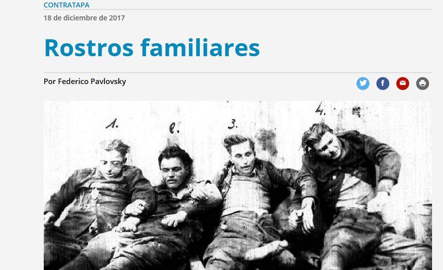 Zdjęcie w artykule na stronie argentynskiego dziennika Pagina12