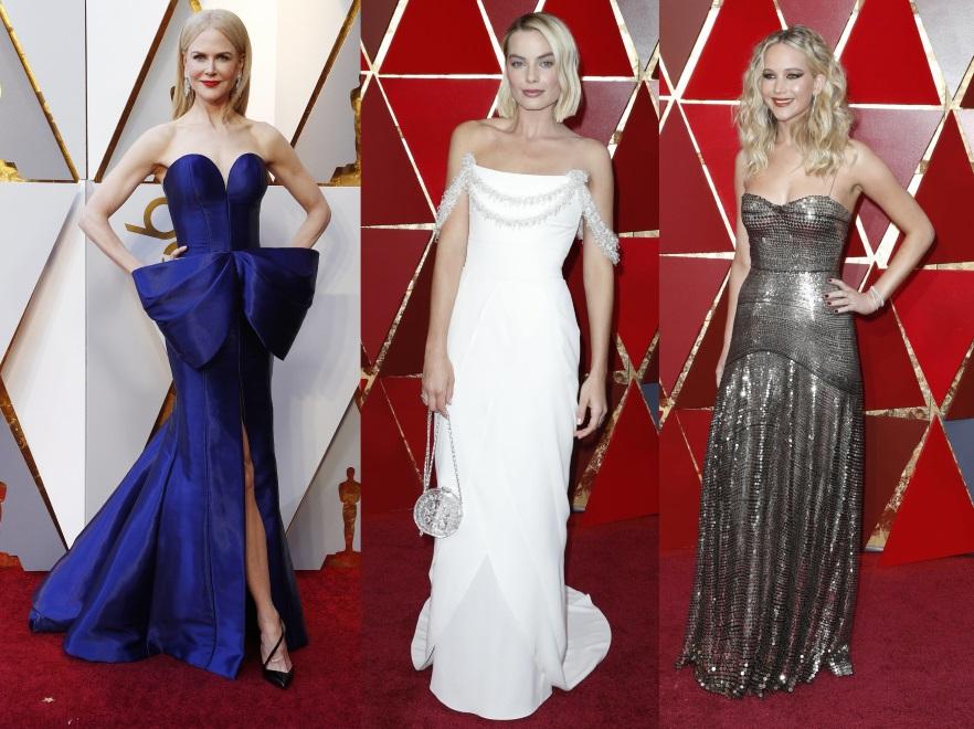 Nicole Kidman, Margot Robbie i Jennifer Lawrence