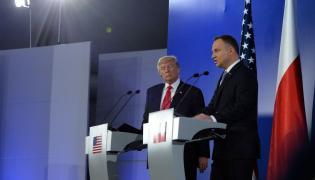 Donald Tump i Andrzej Duda