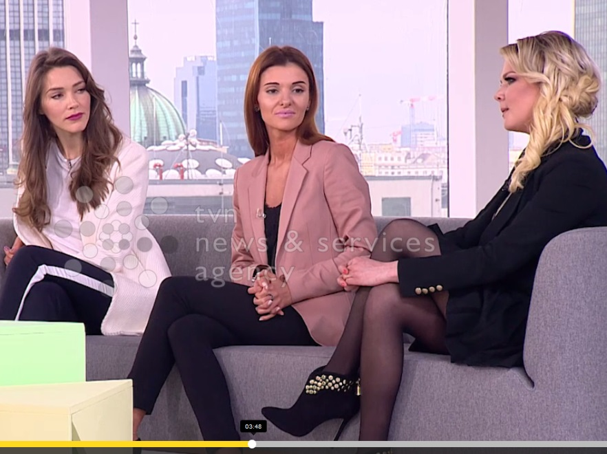 Natalia Jakuła, Izabela Podolec i Dominika Kalisz