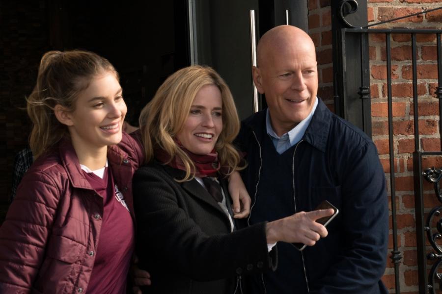 """Bruce Willis i Elisabeth Shue w filmie """"Życzenie śmierci"""""""
