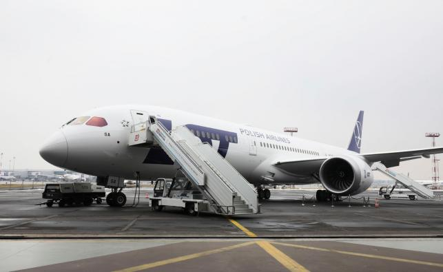 Nowy dreamliner LOT