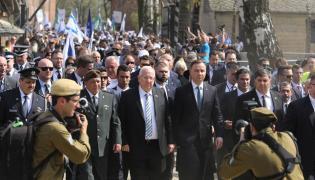 Prezydenci Polski i Izraela
