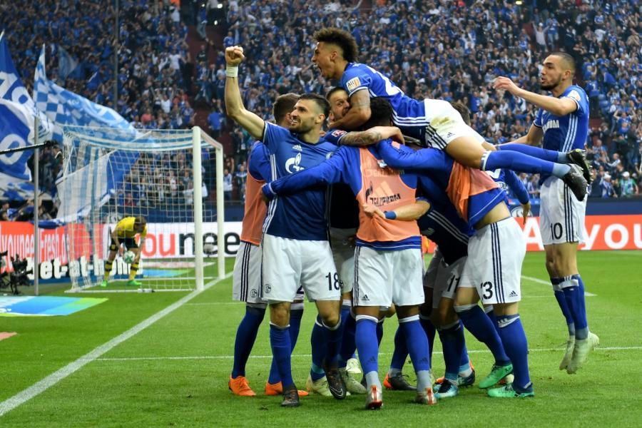 Radość piłkarzy Schalke