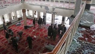 Eksplozja bomby w meczecie