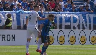 Zlatan Irahimovic uderzył rywala