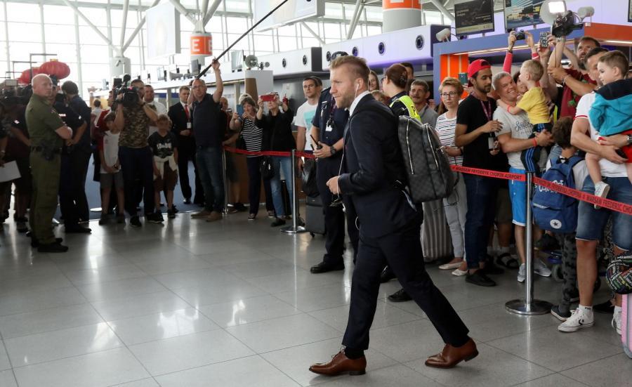 Wylot Polaków na mundial