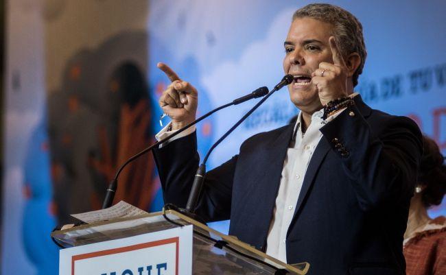 Ivan Duque, prezydent elekt Kolumbii