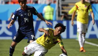 Kolumbia - Japonia