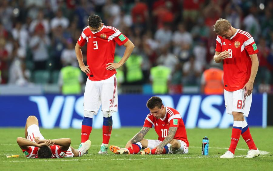 Piłkarze reprezentacji Rosji