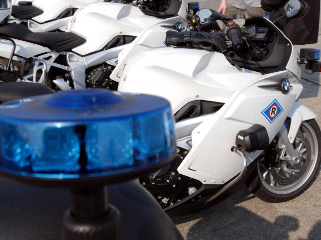 Warszawska policja dostała 11 nowych BMW K1200 Sport. Piraci są bez szans?