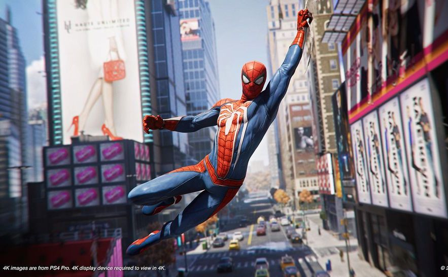 Spider-Man na PS4