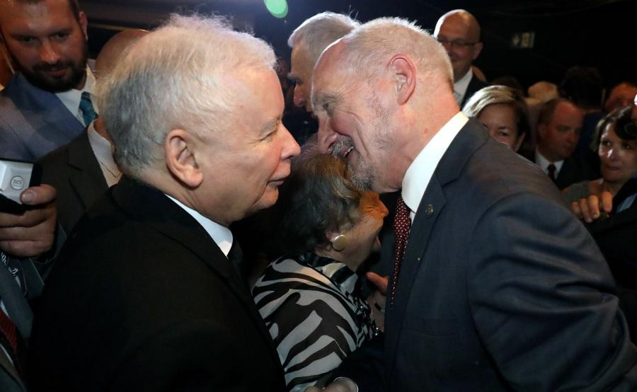 Prezes PiS i Antoni Macierewicz