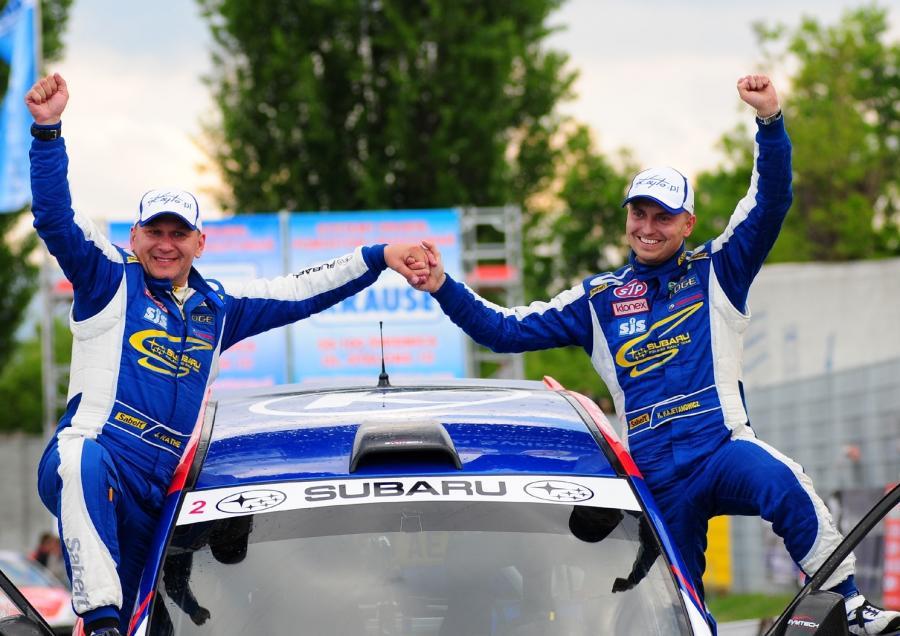 Elmot dla Kajetana, remis w klasyfikacji rajdowych mistrzostw