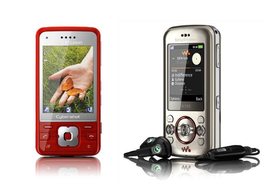 Sony Ericsson C903 i W395