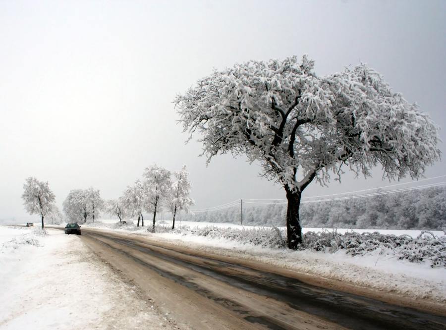 Śnieg będzie padał przez cały tydzień