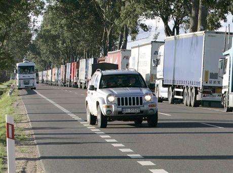 Ogłaszają zakaz jazdy dla ciężarówek
