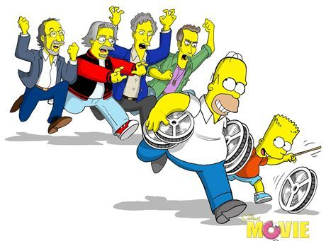 SIMPSONOWIE (SIMPSONS THE MOVIE)FOT. IMPERIAL CINEPIX