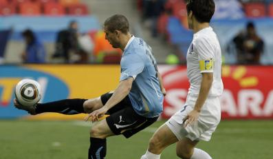 Urugwaj odesłał Koreę Płd. do domu