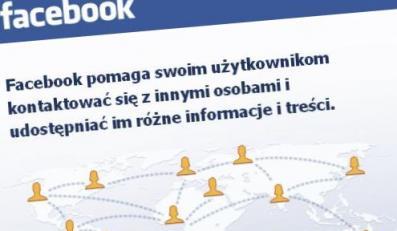 Amerykańskie lotnictwo ostrzega przed... Facebookiem