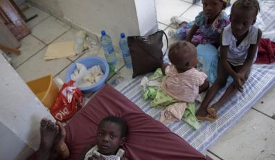 Cholera pustoszy Haiti. Stan wyjątkowy