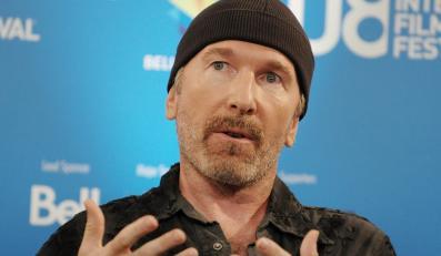 """Jeden z bohaterów """"Będzie głośno"""" - gitarzysta U2 The Edge"""