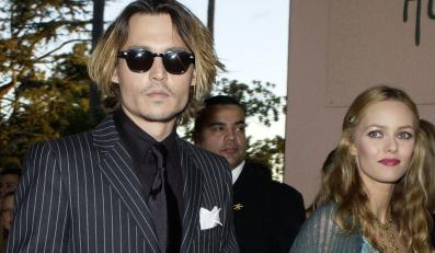 Johnny Depp z żoną