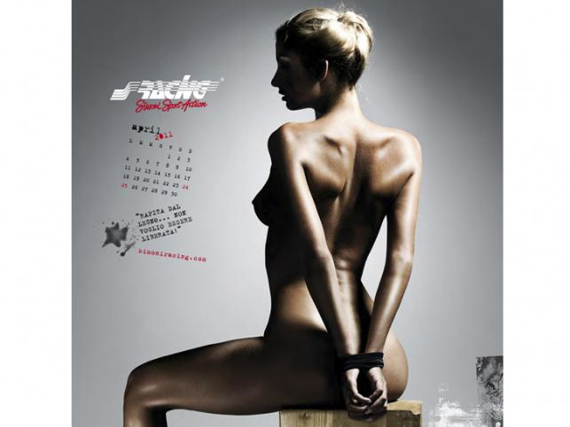 Zdjęcia pochodzą z najnowszego kalendarza włoskiej firmy tuningowej Simoni Racing