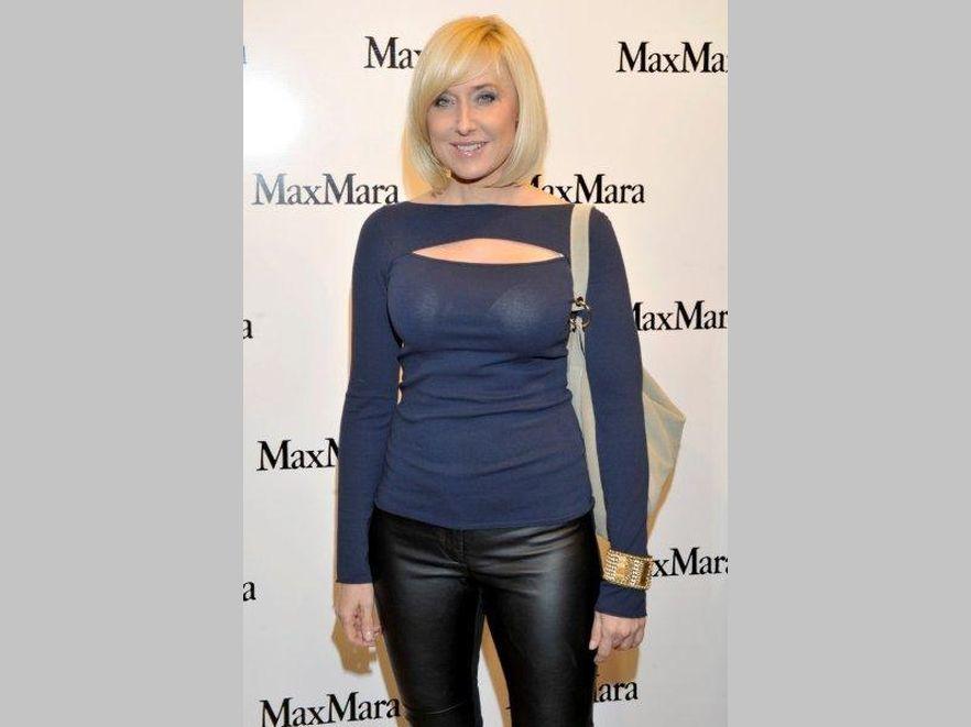 Agata Młynarska na otwarciu salonu Max Mara