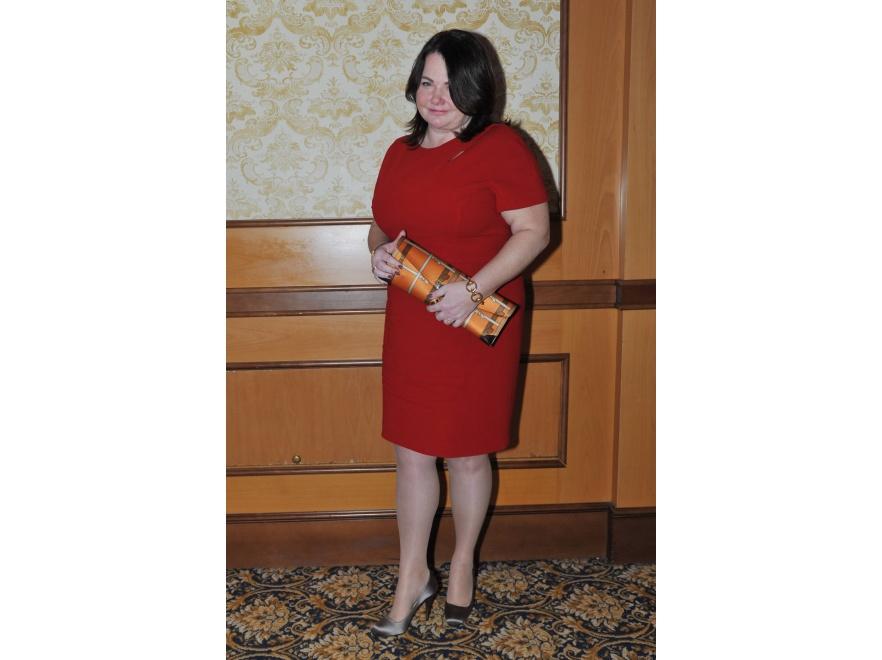 Katarzyna Niezgoda na wieczorze wręczenia nagród Superbrands