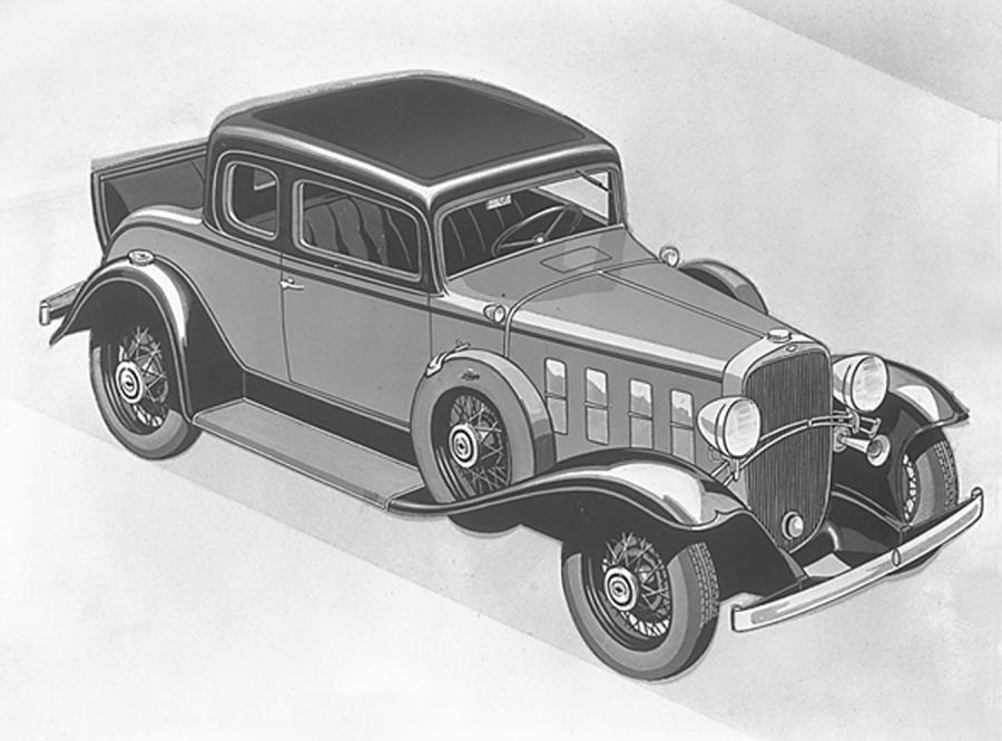 1932 Chevrolet Deluxe Sport Coupe