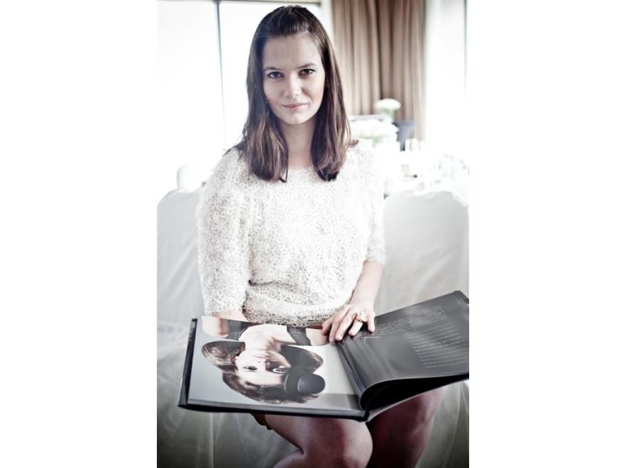 Karolina Malinowska na premierze albumu Simple Creative Products
