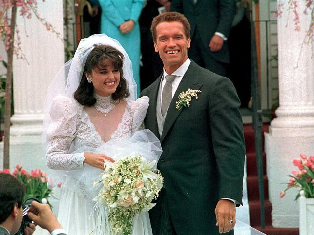 Arnold i Maria w dniu ślubu, w 1986 roku