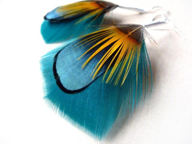 Biżuteria Still Tree Jewellery z oferty butiku trendsetterka.com - kolczyki z ptasich piór