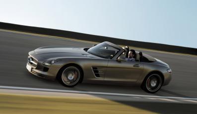 Oto nowy Mercedes SLS roadster