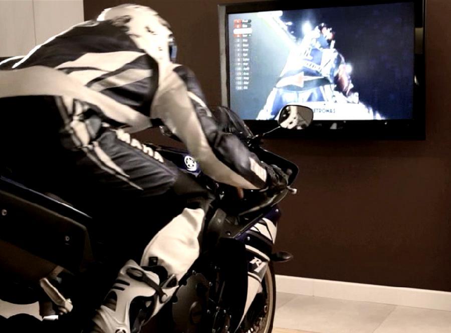 Szalony sposób na oglądnie telewizji! Nie rób tego w domu