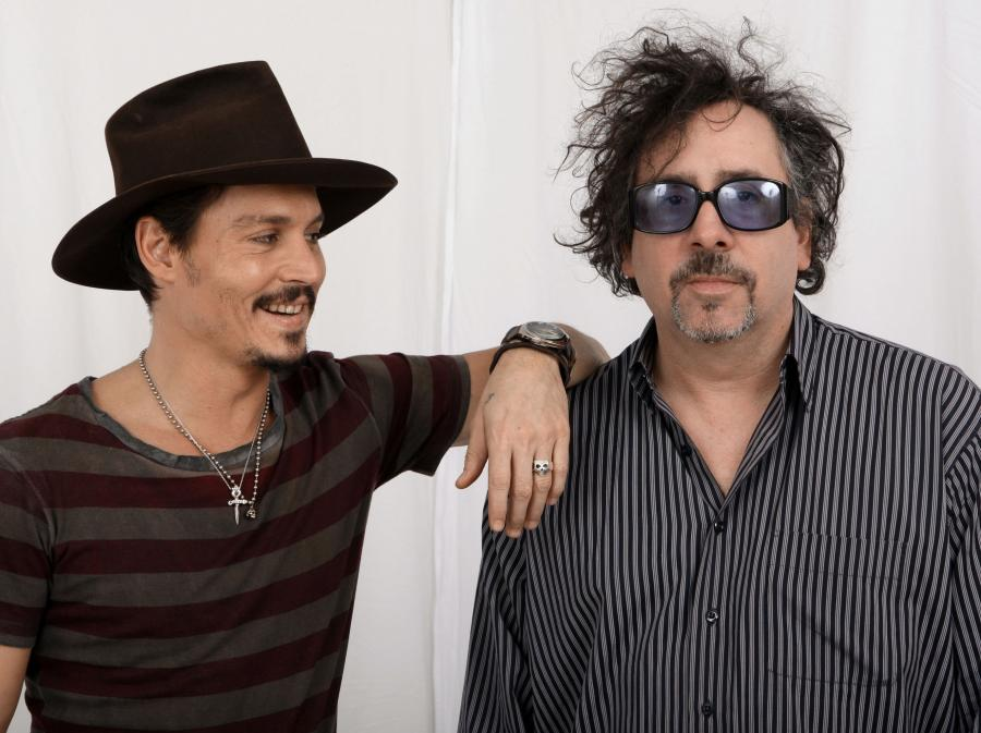 Kumple: Johnny Depp i Tim Burton