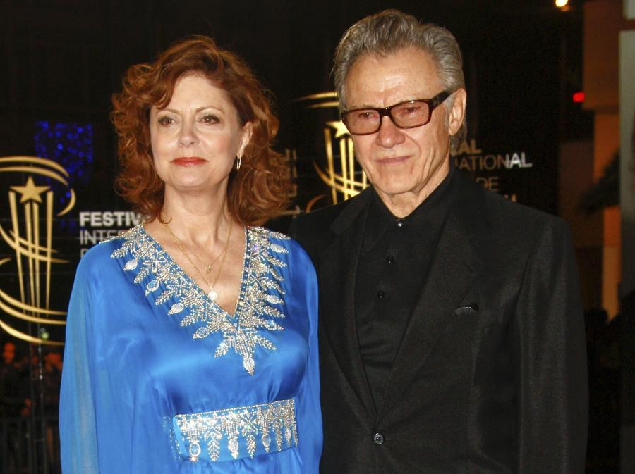 Susan Sarandon i Harvey Keitel