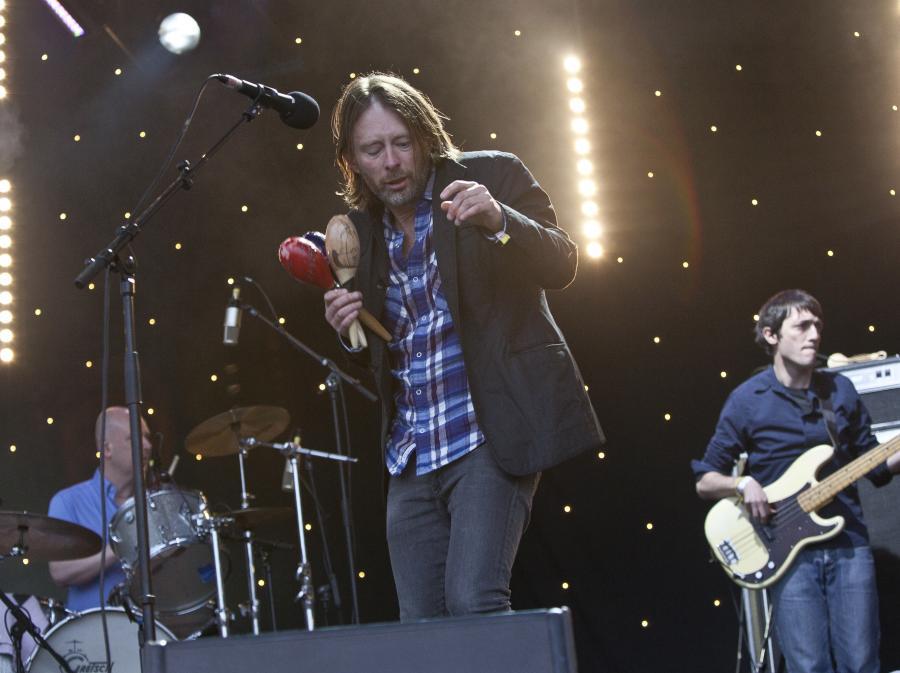Radiohead na Glastonbury 2011