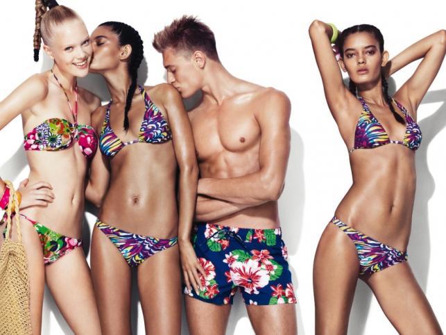 Modowe zgadywanki: w czym na plażę, w czym do łóżka? Bielizna i stroje kąpielowe Benetton na lato 2011.