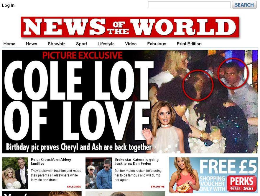 Brytyjski tabloid włamał się do poczty głosowej ofiary mordu