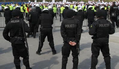 Policja szykuje się do meczu we Wrocławiu