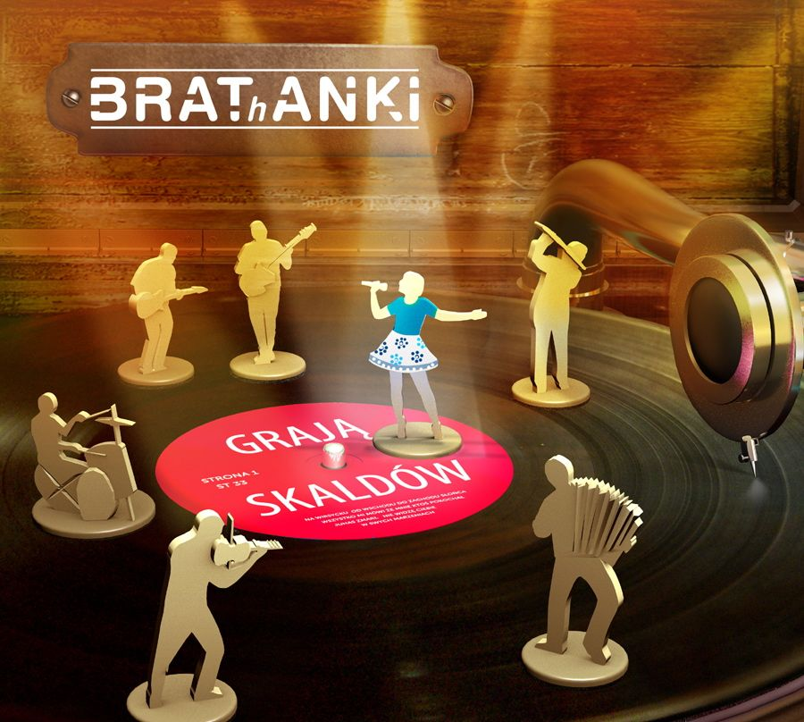 Okładka płyty Brathanków