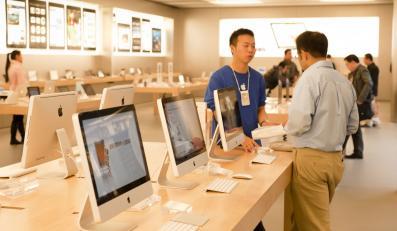 Sklep Apple'a, zdjęcie ilustracyjne