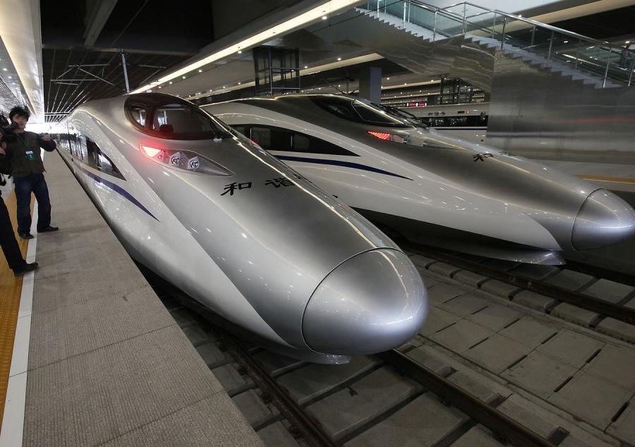 Superszybki pociąg wykoleił się w Chinach