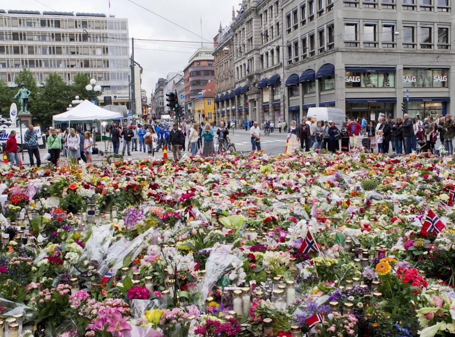Minuta ciszy w Oslo