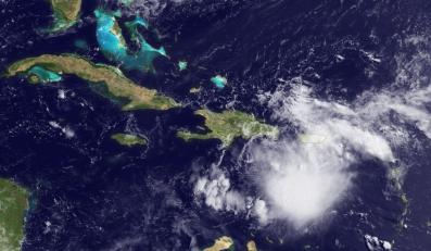 Pierwsze szkody huraganu Emily na Haiti