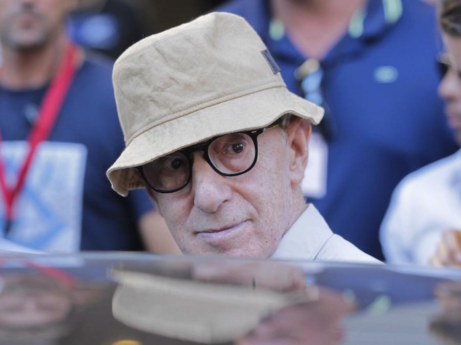 Woody Allen na planie