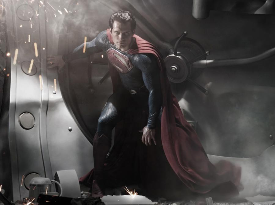 Henry Cavill jako Superman w \