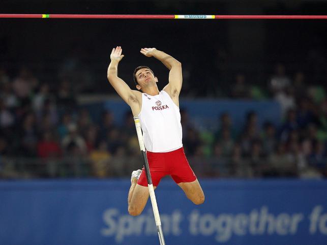 Paweł Wojciechowski skacze po złoto